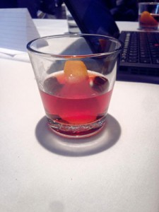 Ever start a class with a Negroni? It doesn't suck.