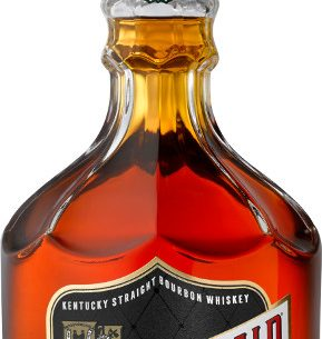 Old Fitzgerald's Bottled-In-Bond fall 2018 release bears a distinctive black label and a $90 price tag. Photo courtesy of Heaven Hill