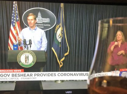 Kentucky Gov. Andy Beshear gives daily 5 p.m. updates on the state's COVID-19 news.